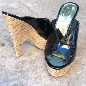 Baby Phat Vanna Platform Cork Sandal
